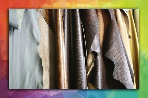 photo of leather