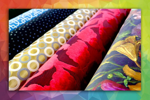 photo of upholstery fabric